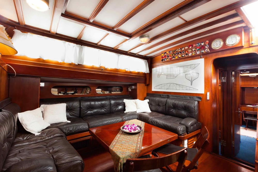 Saloon in sailing yacht Scame in Burma.jpg