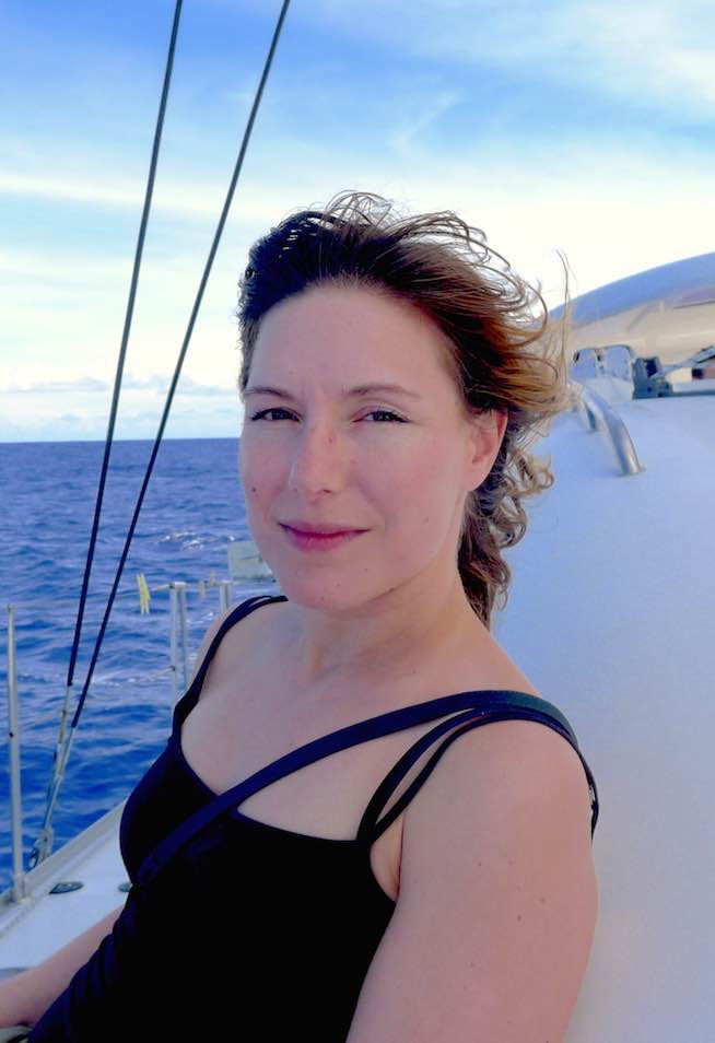Eva Lupprian Project Manager Sailing Clinic