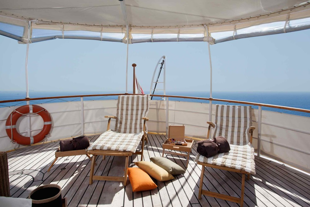 Motor yacht Drenec aft deck private cruises.jpeg