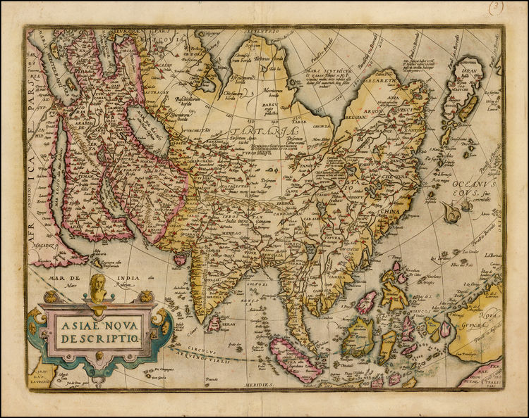 10 beautiful ancient maps and charts of myanmar burma boating a beautiful full color example of ortelius map of asia from ortelius theatrum orbis terrarum the first modern world atlas includes sailing ships and gumiabroncs Images