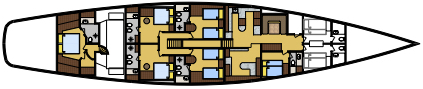 Clan VI cabin layout