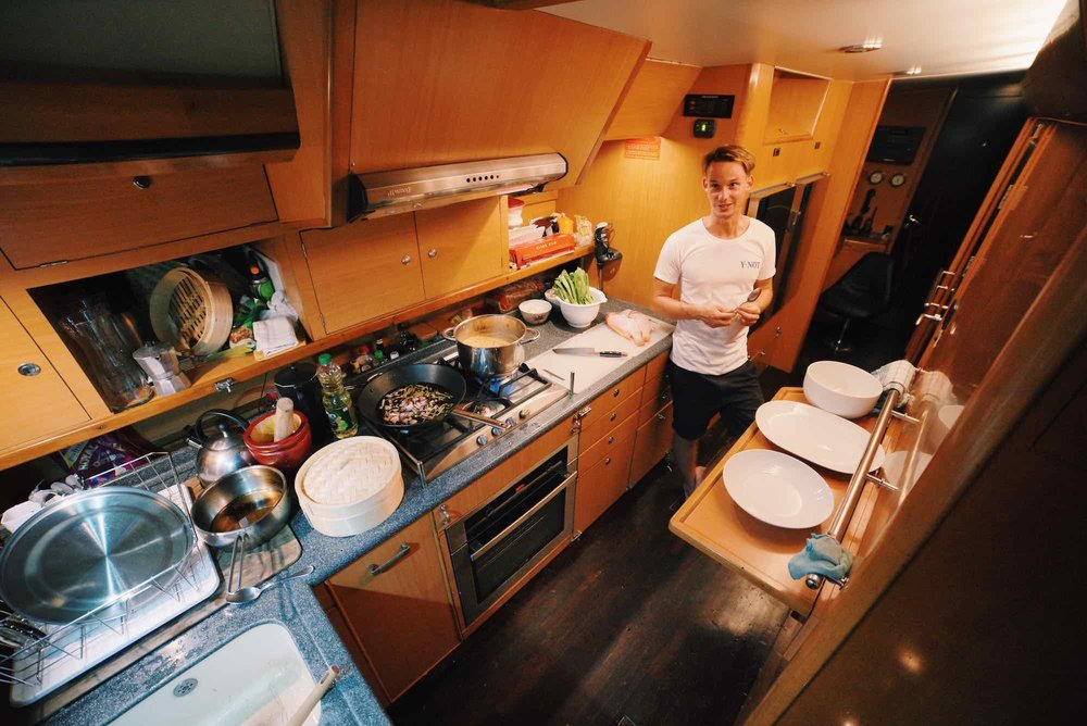Y Not_perfectly formed kitchen on yacht cruising in Mergui Archipelago_XS.jpeg