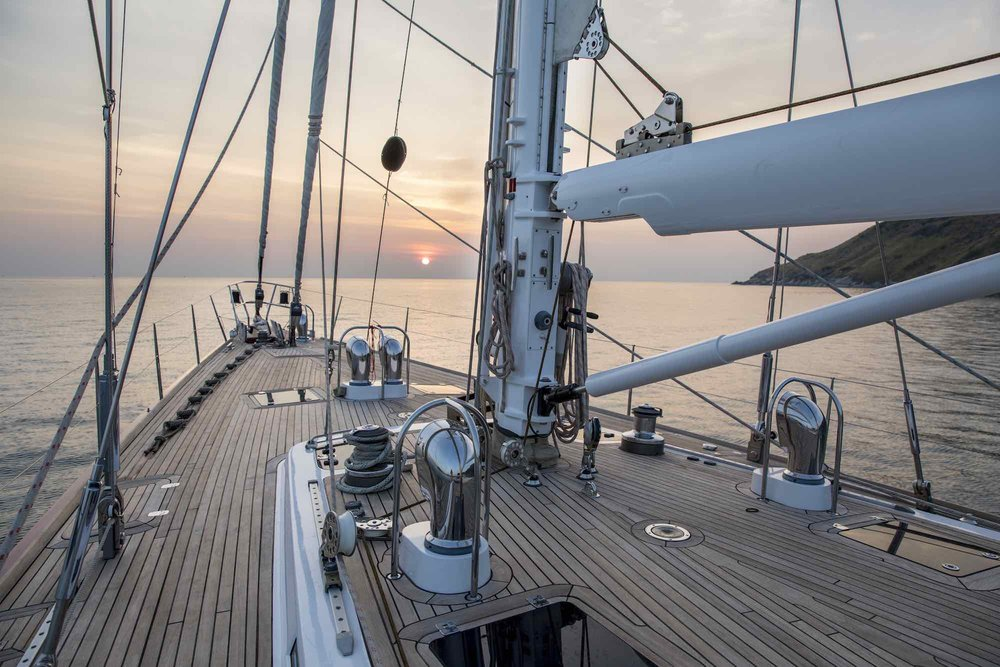 Aphrodite_bow deck anchoring at sunset cruise trip in Andaman Sea_XS.jpeg