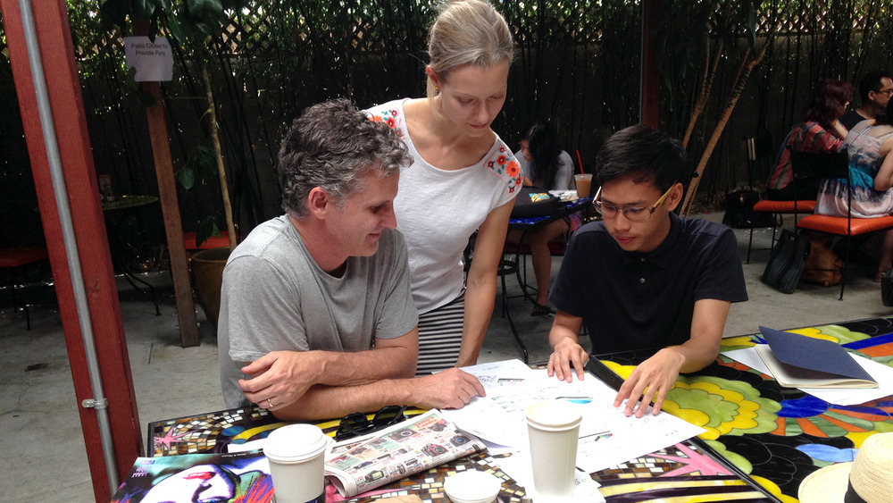 Reviewing the concepts with Elizabeth & Ian, parents of Faith, diagnosed with mild-moderate autism.
