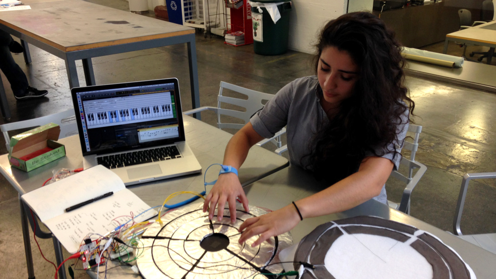 Testing Prototype v.2 with Jessica Brizuela, a practicing music therapist.