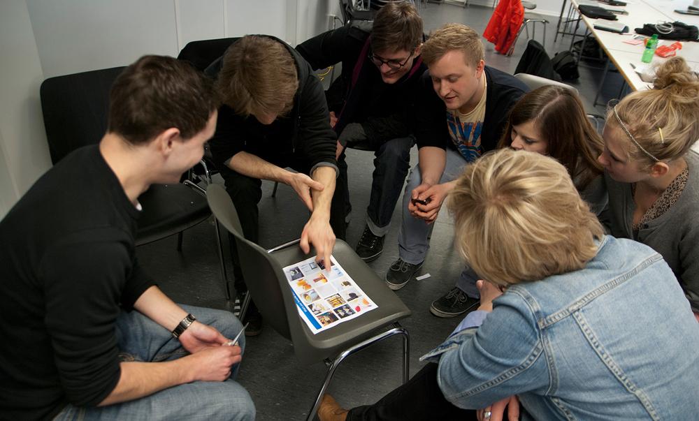 Studenten auf den Fotos: Daisy Aylott, Max-Heinrich Müller, Evamaria Übelhör, Franziska Ullrich,Christian Witt, Dominik Witzke