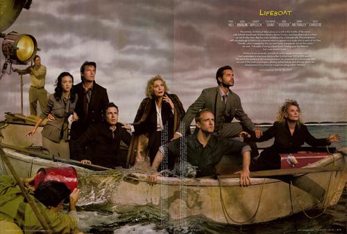 湯唯, 喬許布洛林,凱西艾佛列克,伊娃瑪莉桑特,班佛斯特,歐瑪麥瓦利,茱莉姬絲蒂 |《救生艇》Lifeboat