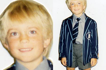 Photo: 羅伯派汀森6歲時。