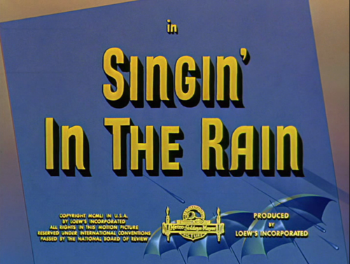 萬花嬉春 Singing' in the rain | Dir.Gene Kelly and Stanley Donen | 1952