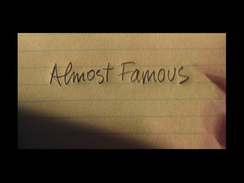 成名在望 Almost Famous | Dir. Cameron Crowe| 2000