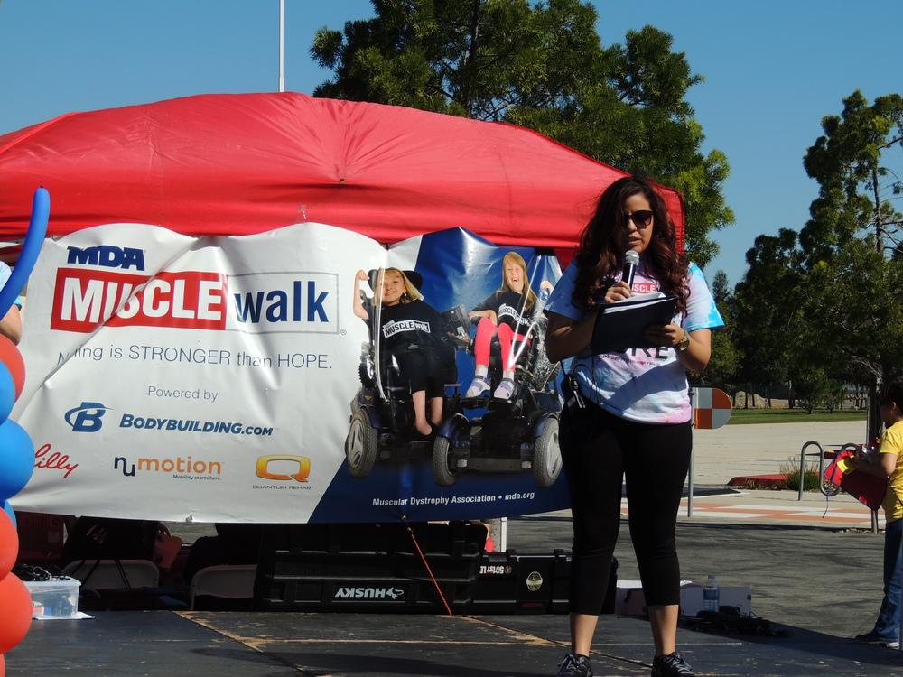 Christina, MDA Walk Organizer