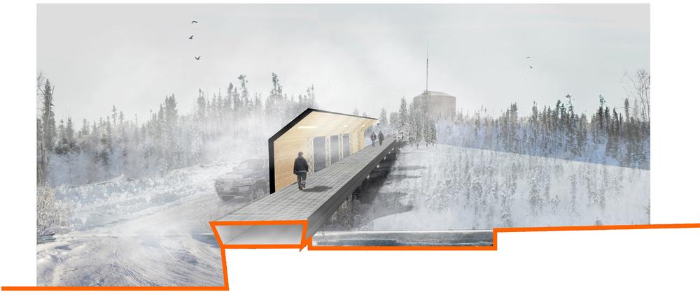 "Arctic ""Utilidor"" Pathway"