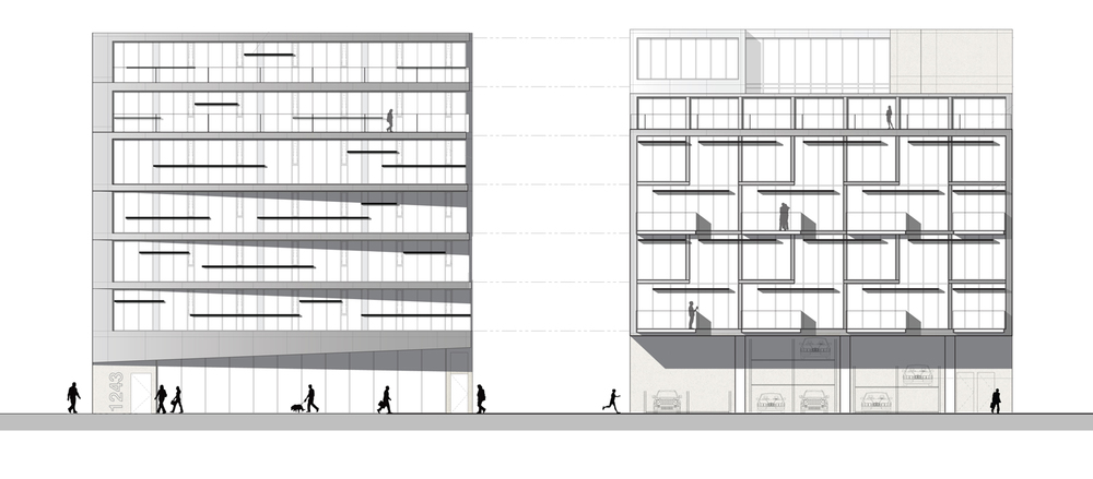 Dundas Street Housing Elevations