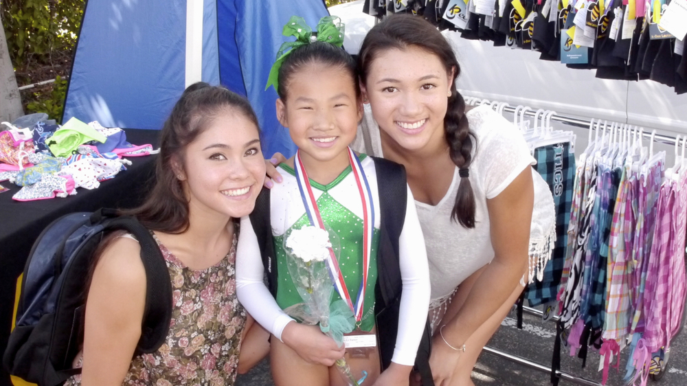 Lexie Gonzlaez, Jia and Kyla Ross