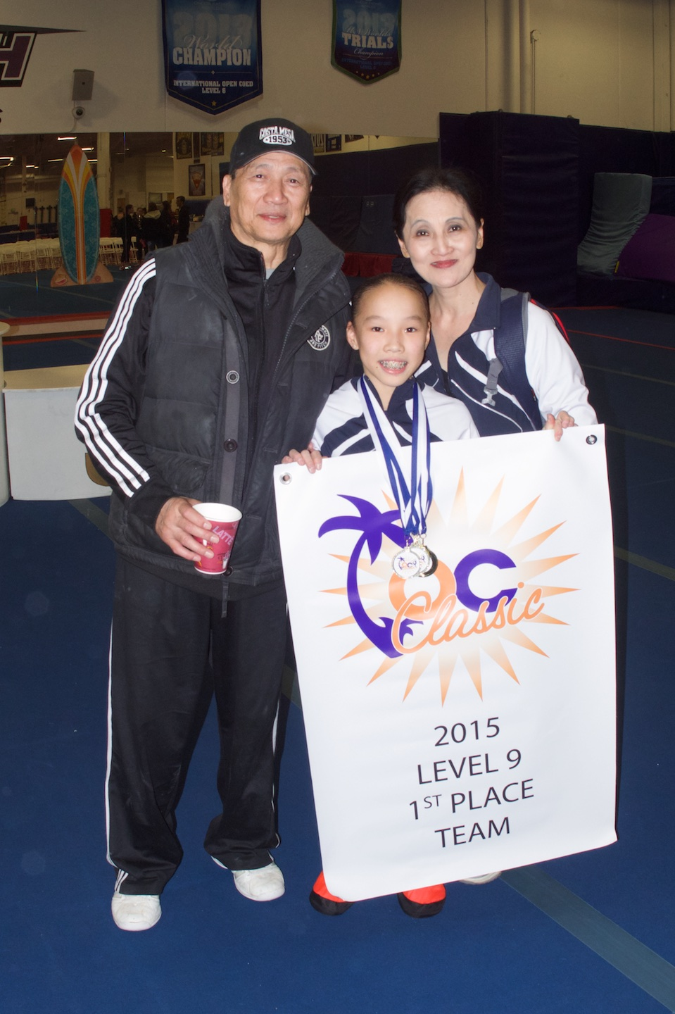 Shae-Lin with Coach Jenny   Zhang-  Liang   and Howie   Liang