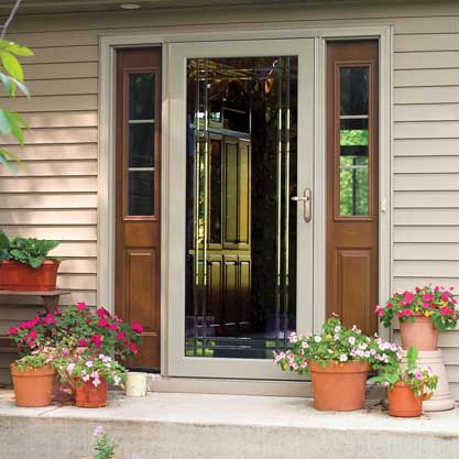 Storm door installation in Cincinnati, OH