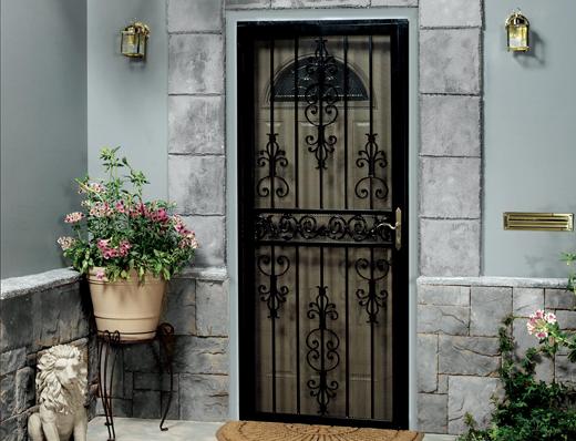 Security doors cincinnati oh sentry for Home security doors