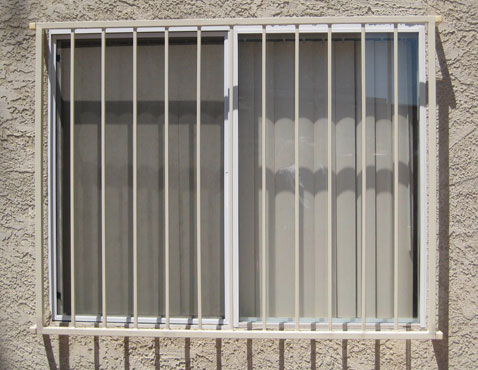 Window security window guards and burglar bars in Cincinnati, OH