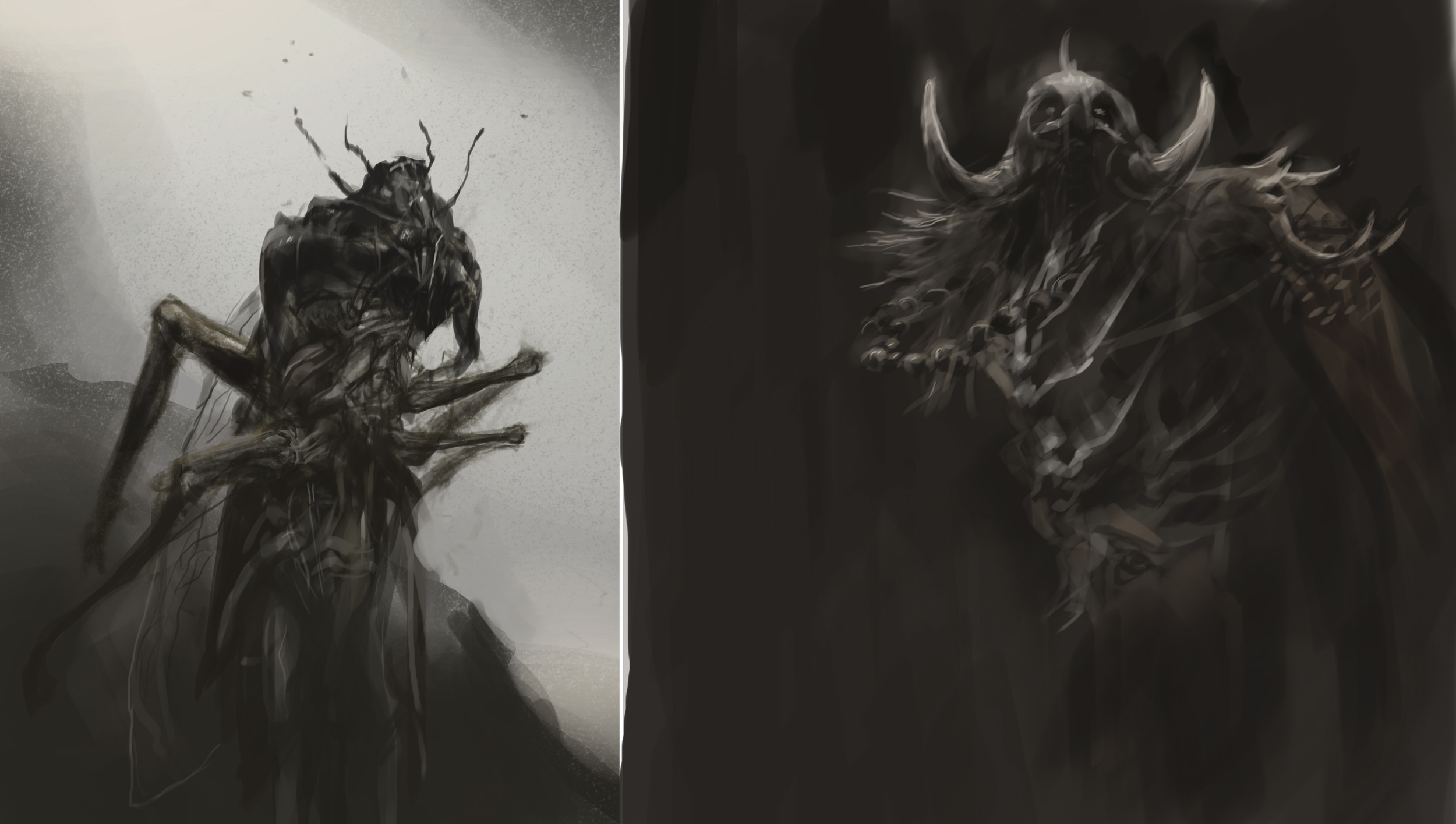 creature doodle