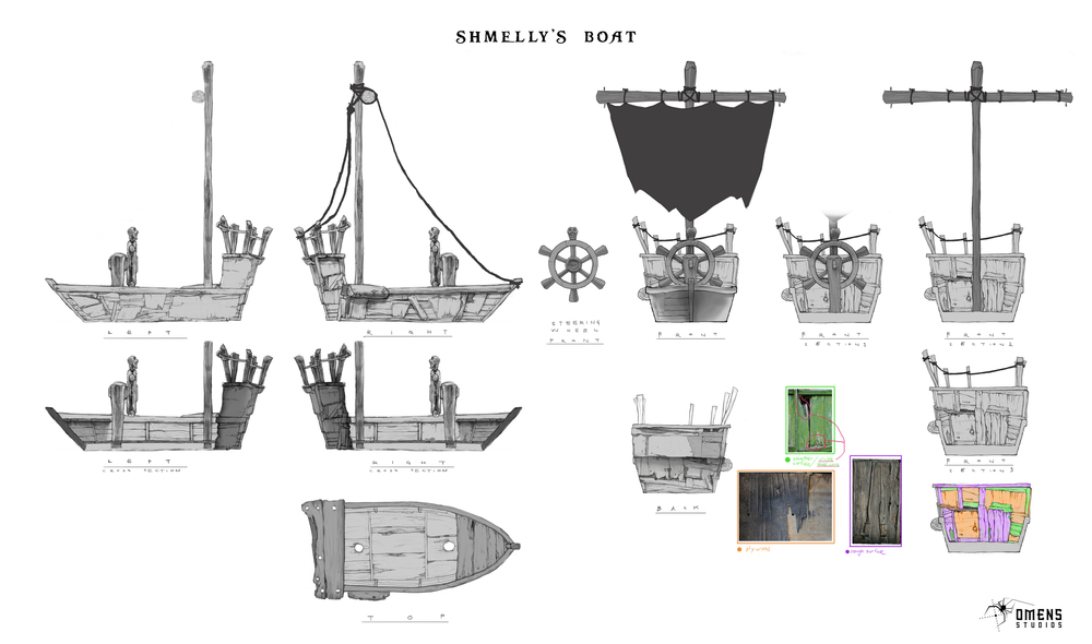 boat model sheet prepared for modeler Sigit Hermawan.