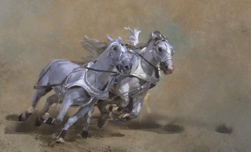 stormbrush_horse study