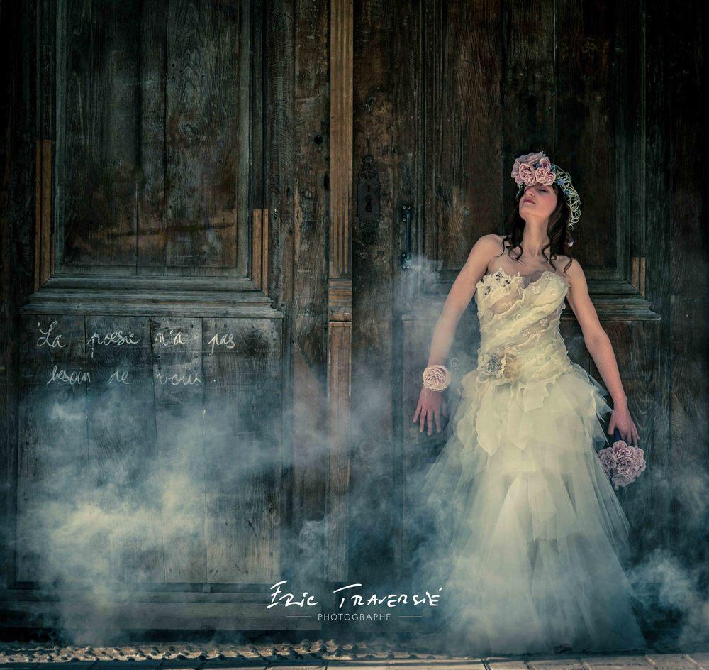 première photo de la série, les photos ont été réalisé dans les vieux murs de Pau