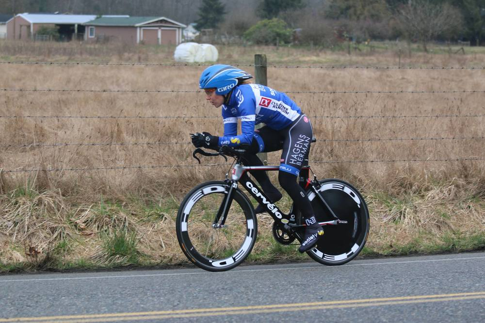 Already a regular on the podium: Kenda Super at the 2014 Icebreaker TT