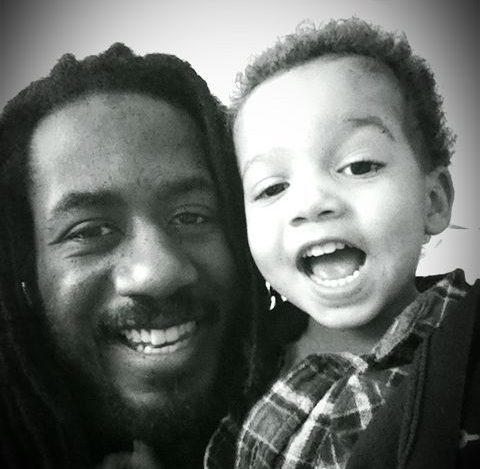 50 Shades of Black Creative Director and Producer Carlton Mackey and his son