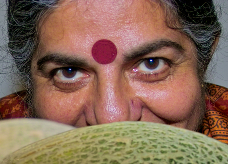 vandana shiva eyes smile