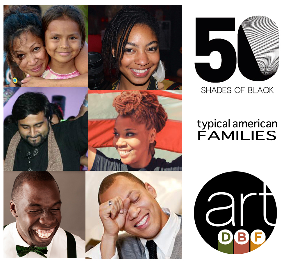 What are we so happy about? (Team of Photographers for the 3rd Open Shoot of 50 Shades of Black at Decatur Book Festival)
