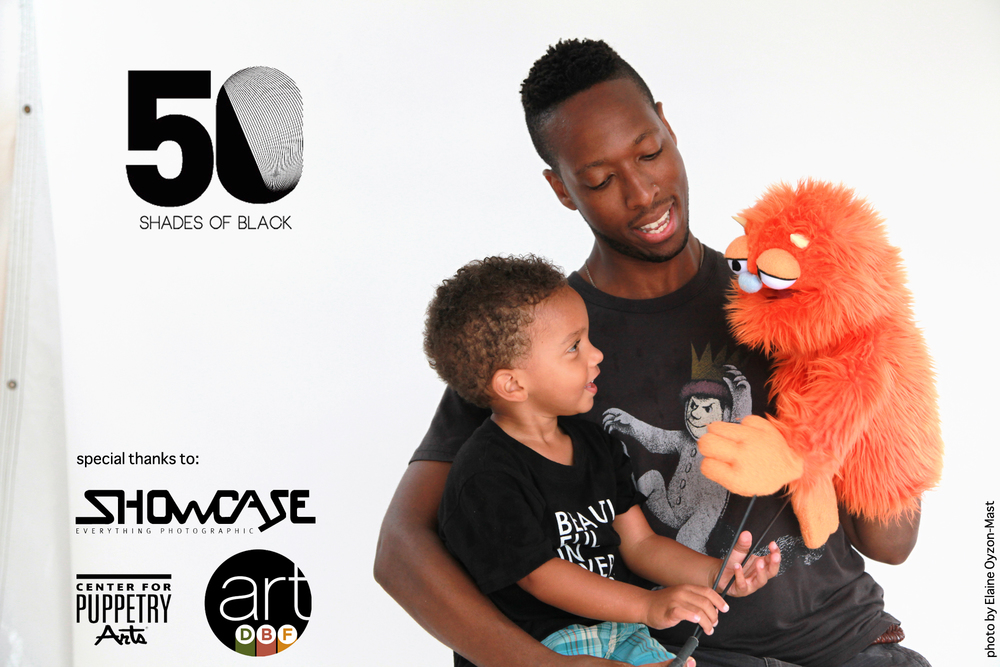 Photo by Elaine Oyzon-Mast, one of 5 local professional photographers chosen to host the art DBF Open Photo Shoot for 50 Shades of Black and  Typical American Families