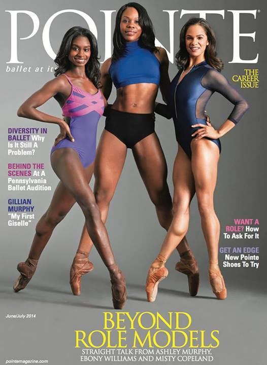 June/July cover of Pointe Magazine