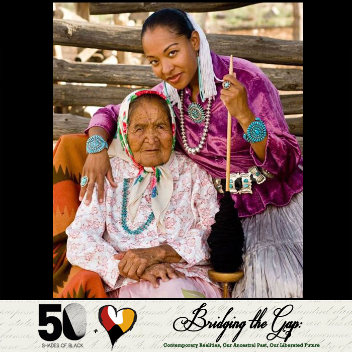 Bridging the Gap with Radmilla Cody of Navajo and African heritage, and her Grandma Dorothy, Navajo (RIP)