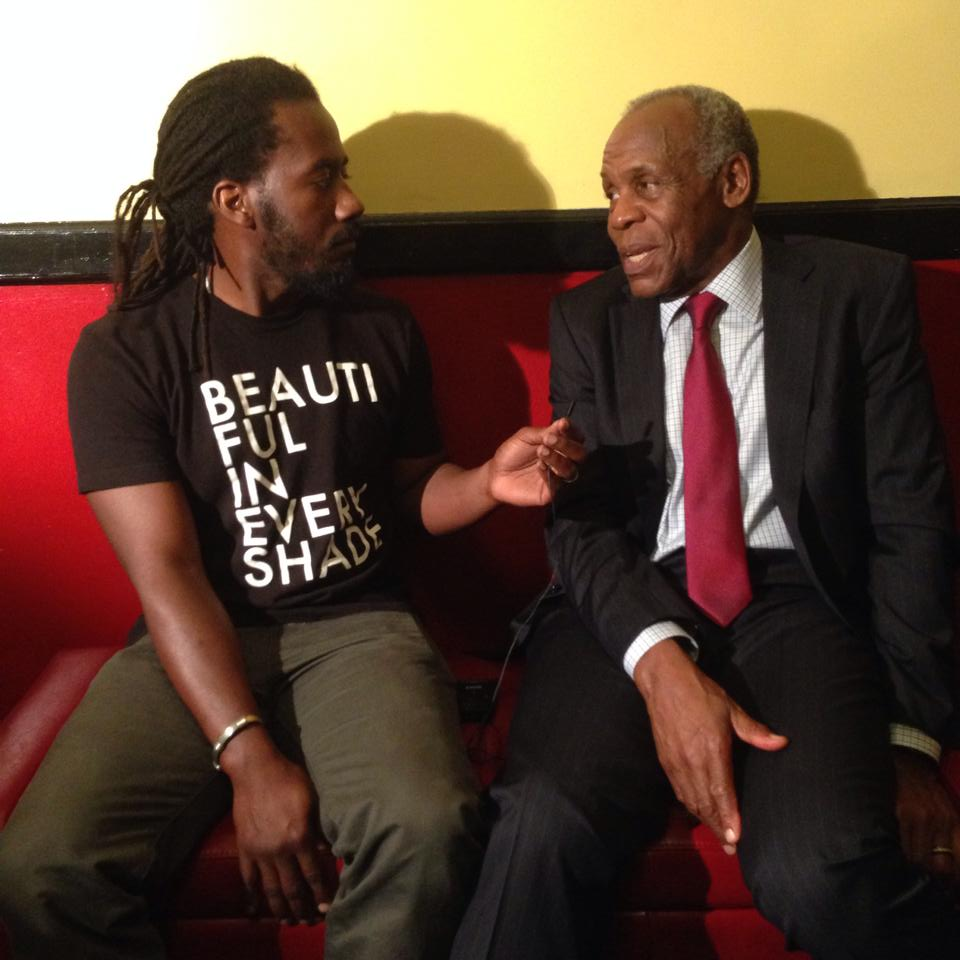 Carlton Mackey in exclusive interview with festival founder and leading actor Danny Glover.