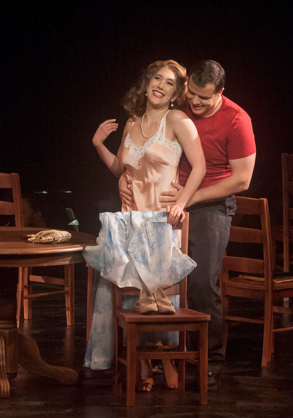 As Stella in  A Streetcar Named Desire  with Opera San Jose (2016)  Photo by Bob Shomler