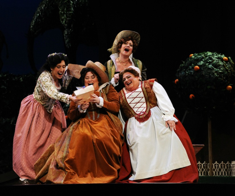 As Nannetta in  Falstaff  with Opera San Jose (2013)  Photo by Pat Kirk
