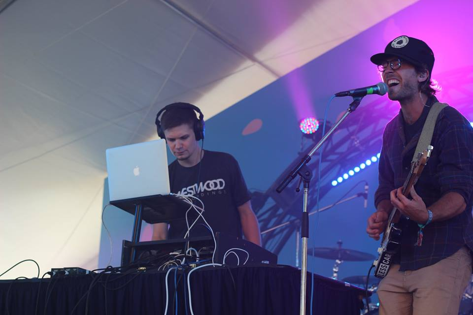Nog and Sean helping Rifflandia get down. Photo by Rags Music.