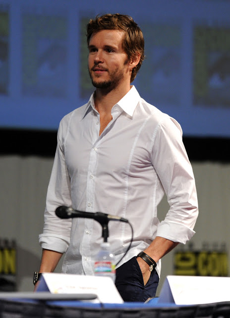 Ryan Kwanten on Saturday at panel for  Knights of Badassdom,  Grooming by me.