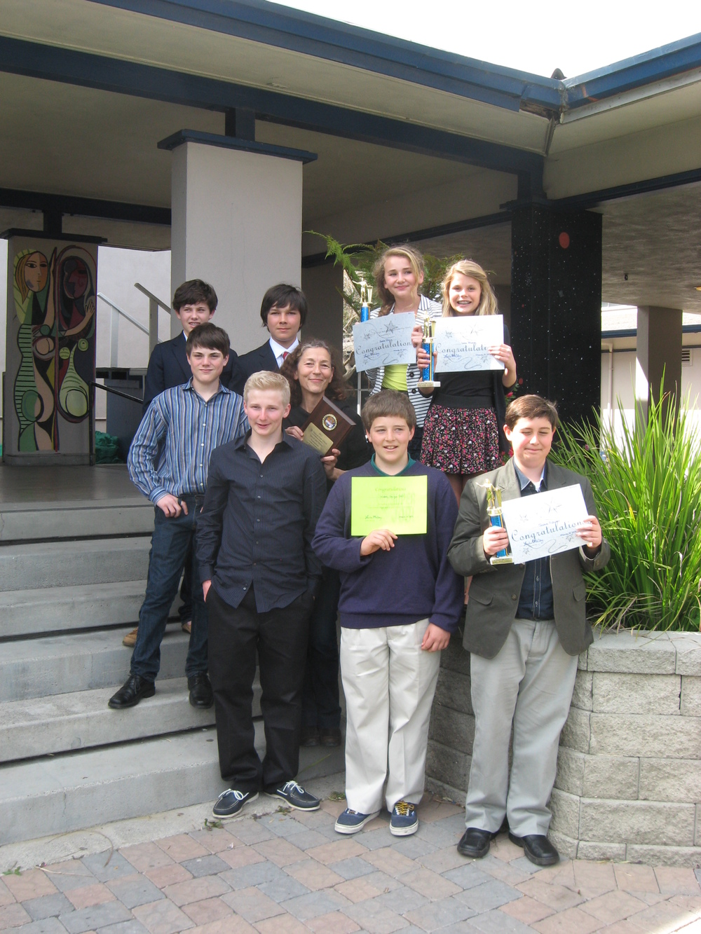 REAL School Marin sweeps the honors at the St. Vincent's Speech Tournament, 2013