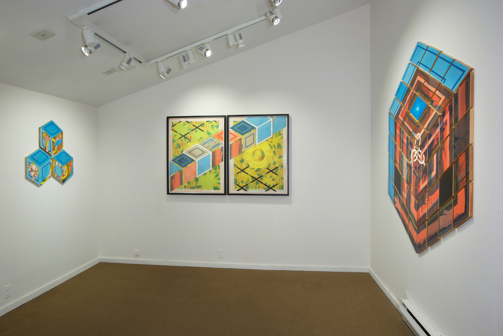 Jen P. Harris: Codes Rockland Center for the Arts, West Nyack, NY March 1 - April 12, 2015
