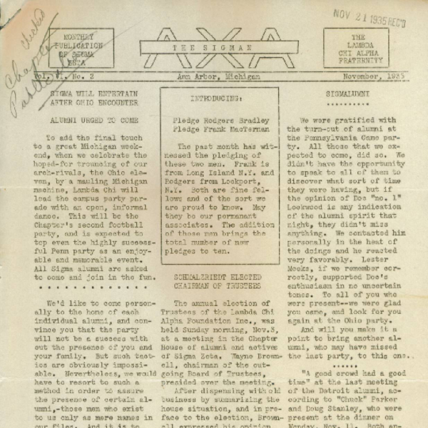 November 1935