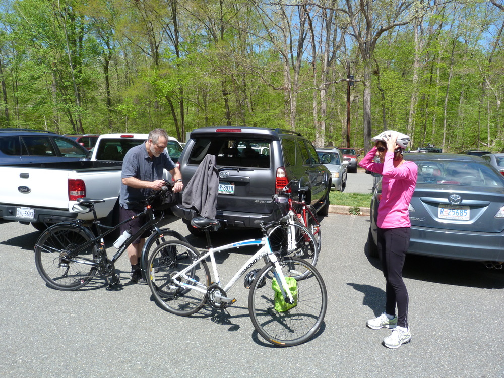 Arrived at Carderock Park, near Cabin John MD, our start point for the day.