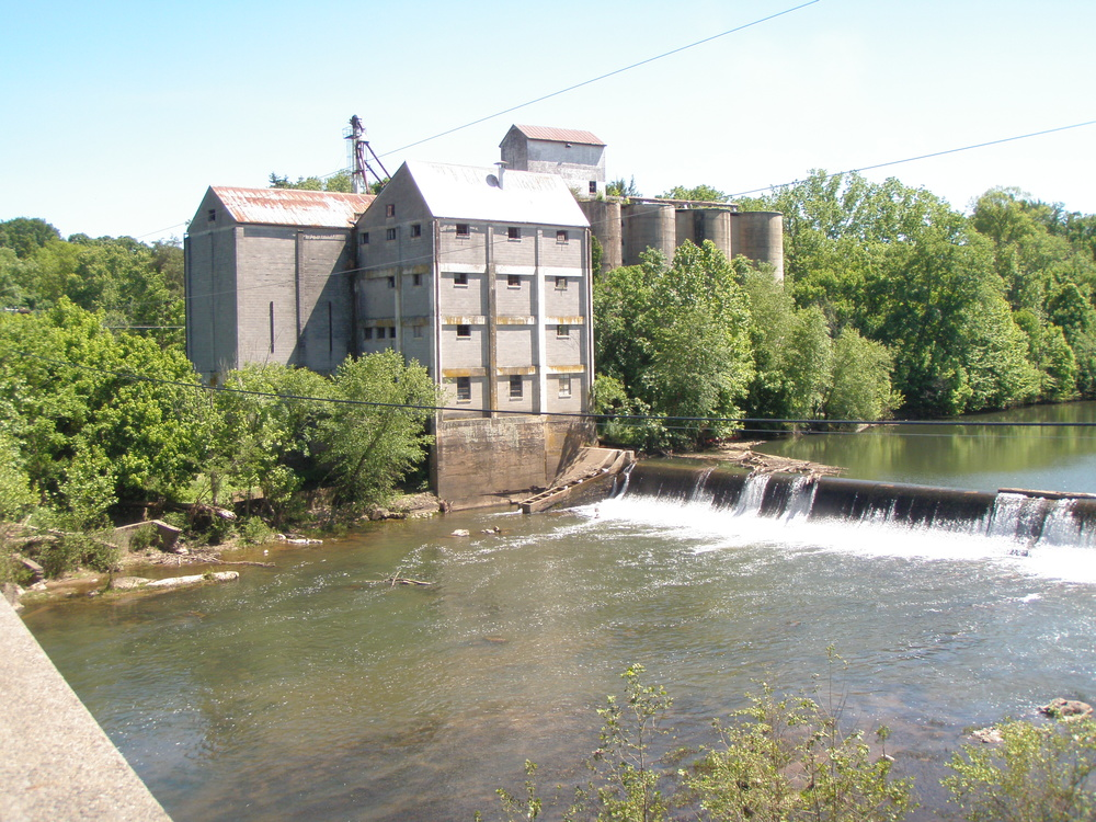 And we found an old mill, just up the street from the train.  This town was a hidden gem