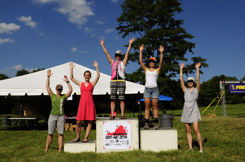 Hoo-Ha Women's Enduro Podium