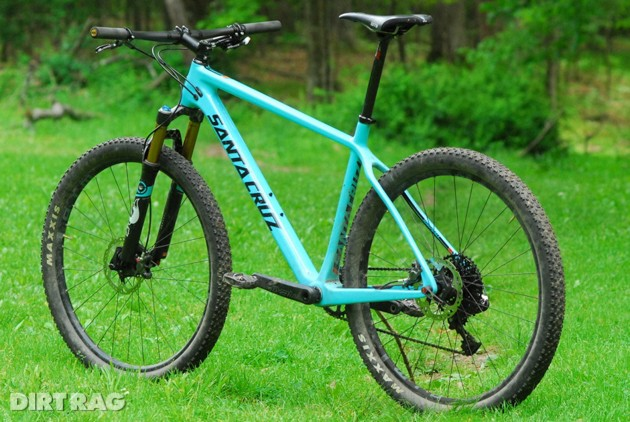 Santa Cruz Highball 27.5 at Bluestone Bike & Run in Harrisonburg, VA.