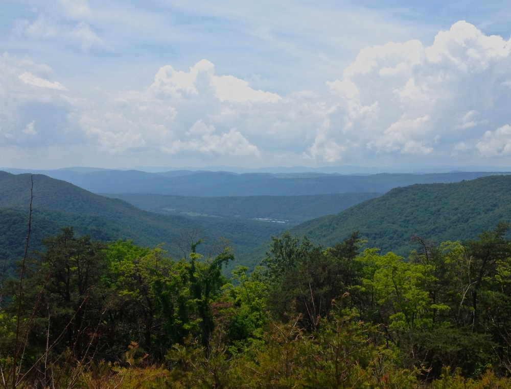 One more mountain top view. its a shame the country's so ugly around these parts.