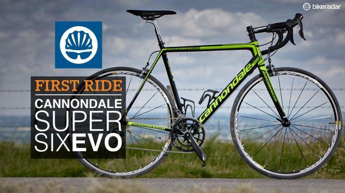 Cannondale SuperSix EVO Hi-Mod Ultegra - first ride - Bike