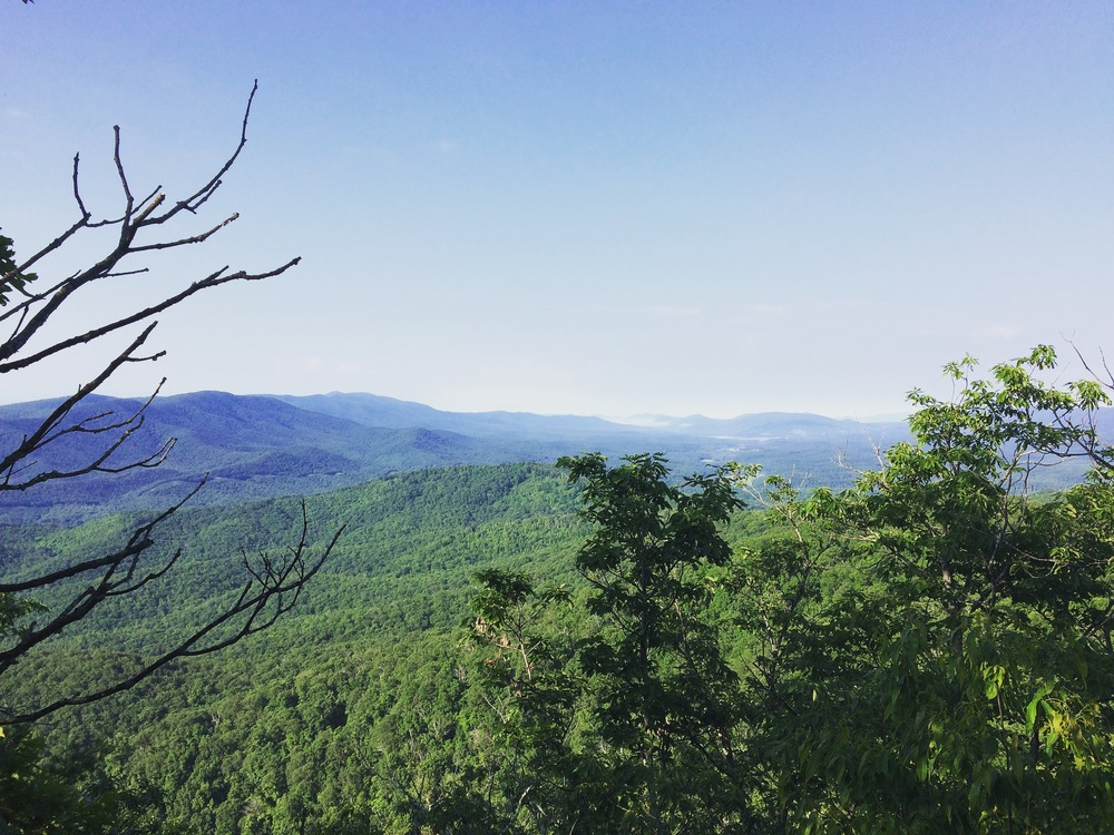 Dowell's Draft Overlook, GWNF