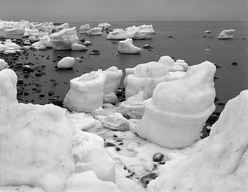 Ice Encased Rocks 2, Horseneck, 1979.jpg