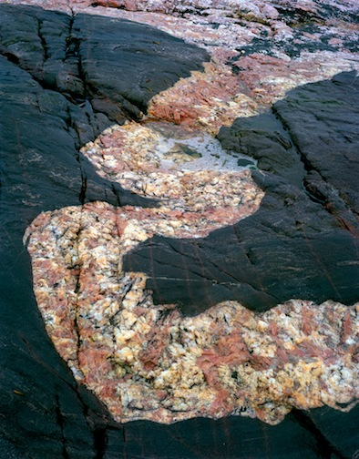 Pink Granite Swirl, Battle Harbour, Labrador, 1999.jpg